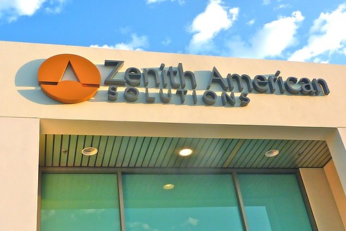 Zenith American Solutions - reverse channel letters and logo