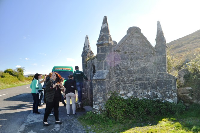Travel to Ireland: Pinnacle Well in Ballyvaughan, Seen During Tour with Day Tours World and Paddywagon Tours, Oct. 2013