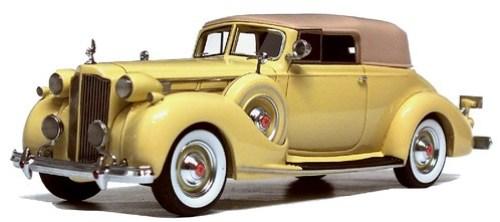 Automodello Packard Twelve Comv.Victoria 1937 (2)