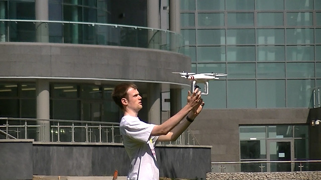 Quadcopter Flight on Campus