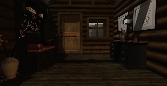 Rustic Lodge - Entryway
