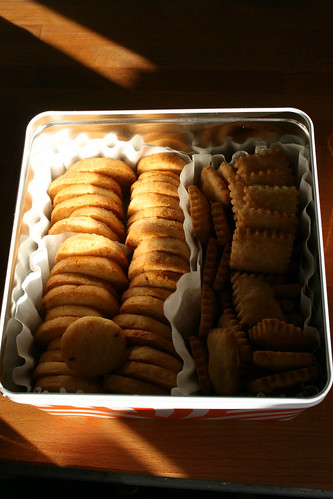 cheese biscuits & sables by the james kitchen