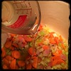 W/carrots and celery begin to soften add 1 cup for the #Chickpea #Soup #Minestra d'Ceci