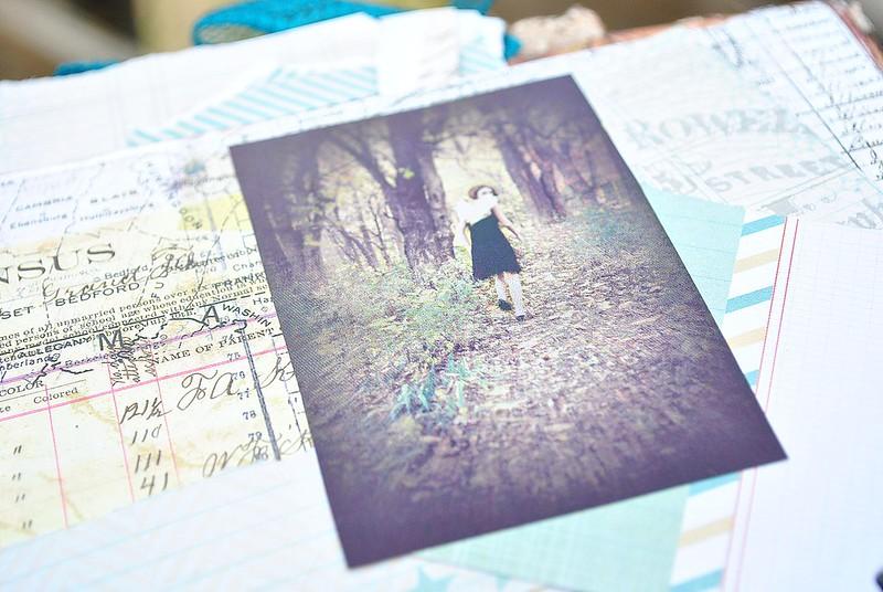 walking in woods, hope chest, portfolio