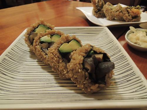Minako Avocado and Mushroom Sushi