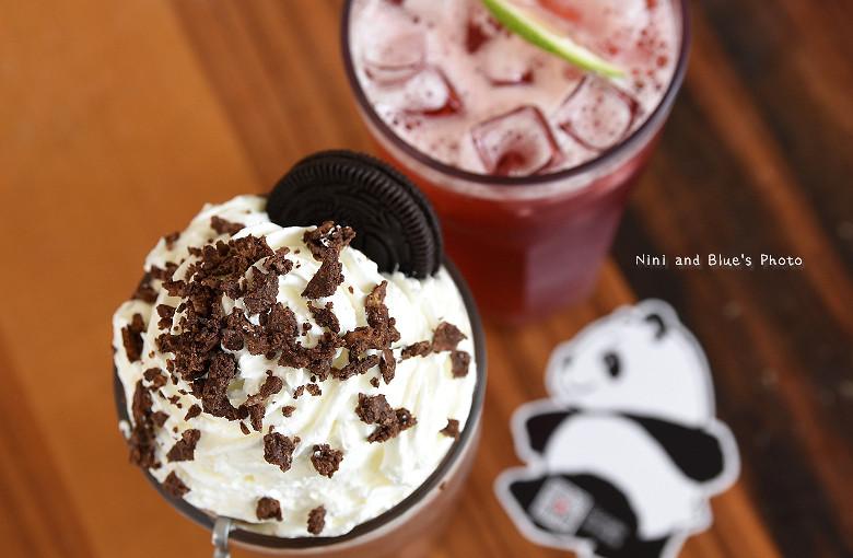 台中早午餐推薦冰滴咖啡插座餐廳胖達19