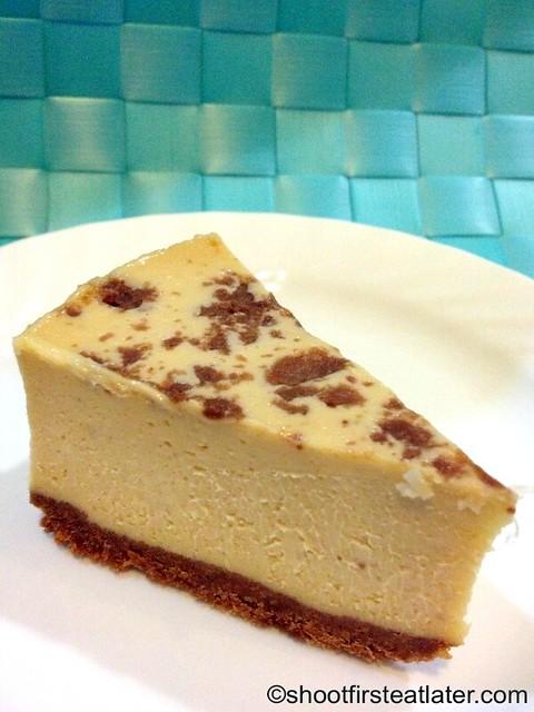 Greg Guy's Fiesta Cheesecakes - chocnut