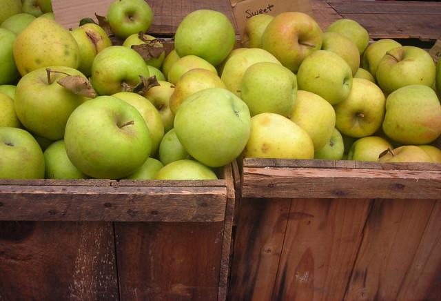 Mutsu apples