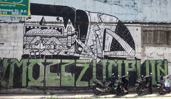 Quezon Avenue Graffiti 4