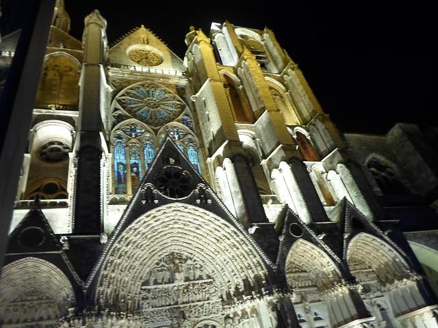 Facade, St. Etienne de Bourges