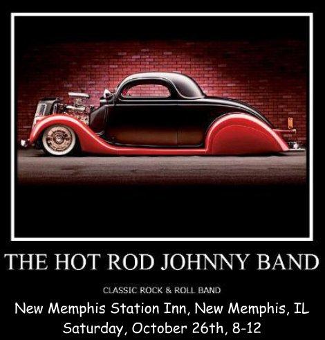 Hot Rod Johnny Band 10-26-13