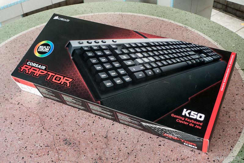 Corsair Raptor K30 and K50 Gaming Keyboards 23