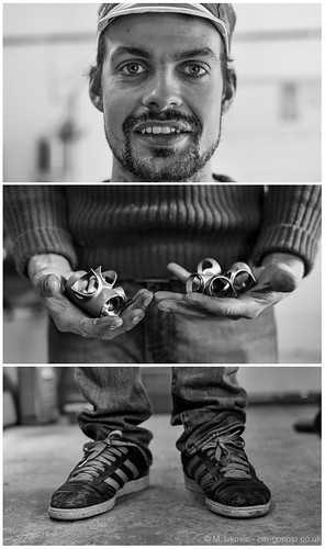 Triptych Portrait Project #45 | Ricky Feather by bang*