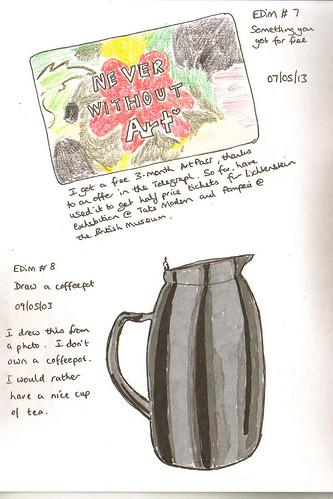 EDiM #7 & #8 Free & Coffeepot