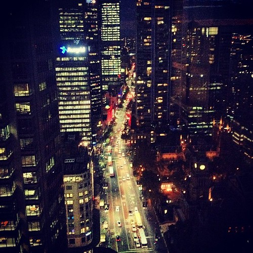 #sydney #australia at night by @MySoDotCom
