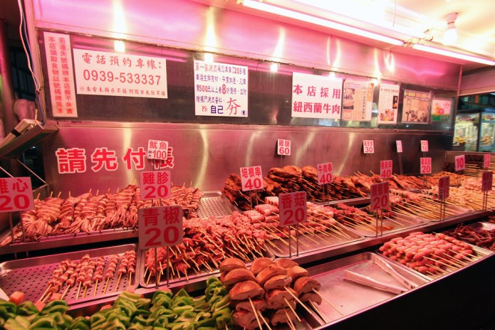 famous bbq stall in Hualien night market 3