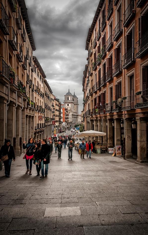 6. Calle de Toledo, en Madrid. Autor, Miguel Díaz