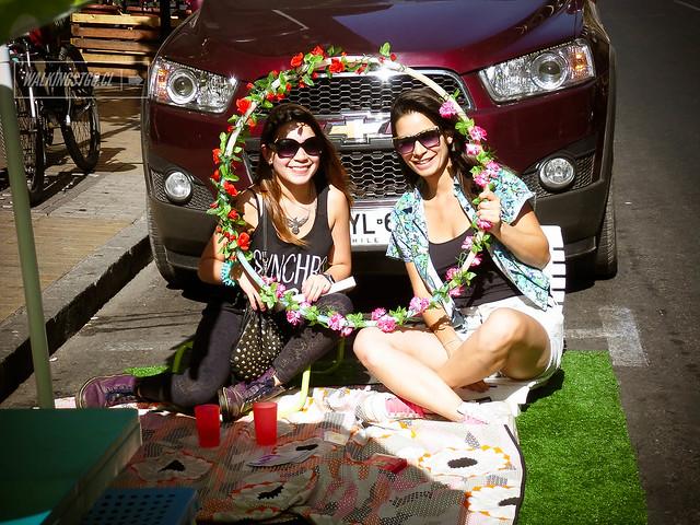 """""""El Aro de los deseos"""" @100en1diaStgo @parking_day en @HechoenCasaFest #hechoencasa2"""