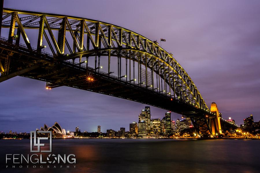 Sydney Harbour Bridge & Sydney Opera House | Milsons Point/Luna Park Wharf | Australia Trip 2013