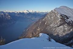 Panoramiche dal Monte Baldo (gennaio 2014)