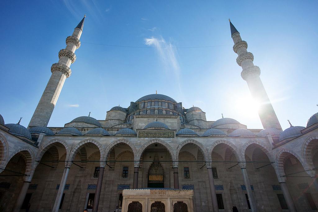 Süleymaniye Mosque, Istanbul Turkey.