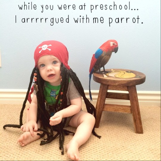 While you were at preschool...