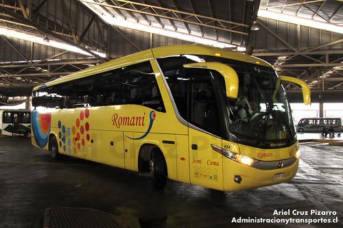 Romani - Santiago - Marcopolo Paradiso 1050 G7 / Mercedes Benz (CHRK48)