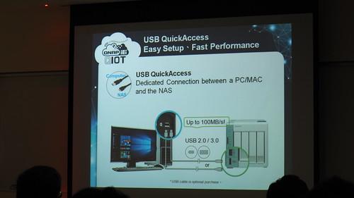 USB QuickAccess จะทำให้การเชื่อมต่อเร็วขึ้น การตั้งค่าเริ่มต้นง่ายขึ้น