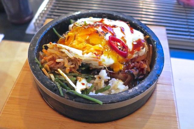 Spicy Pork Stone-Pot Bibimbap