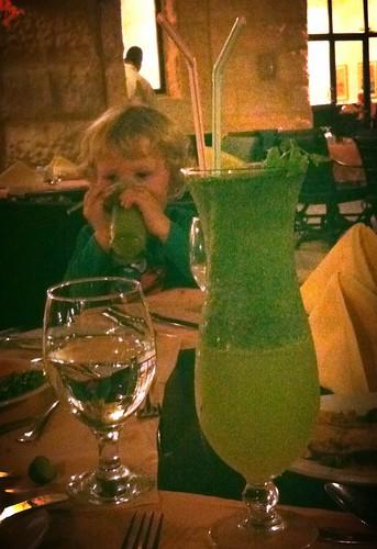 Lemonade - Lemon & mint juice by nikki.j.thorpe