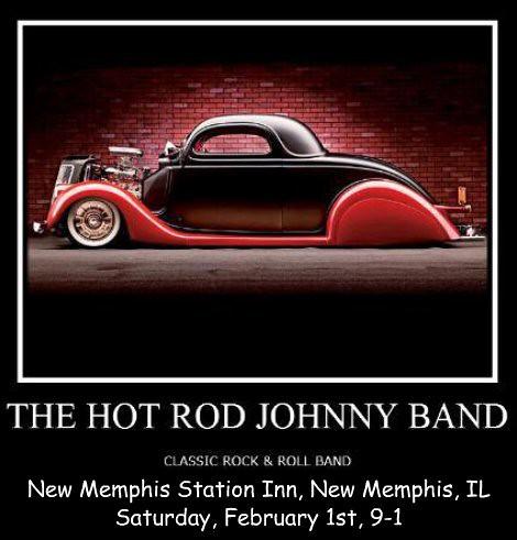 Hot Rod Johnny Band 2-1-14