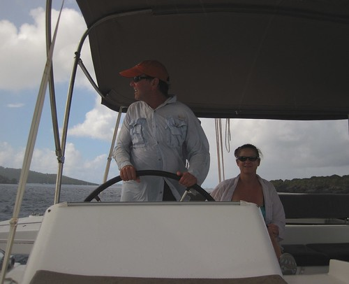 Heading to Leinster Bay