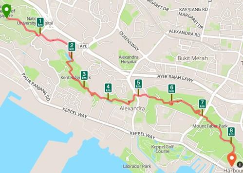 Walking Activity 8.57 km | RunKeeper