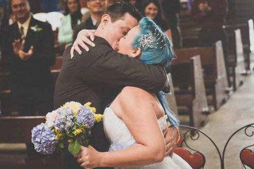 My Blue Geek Wedding