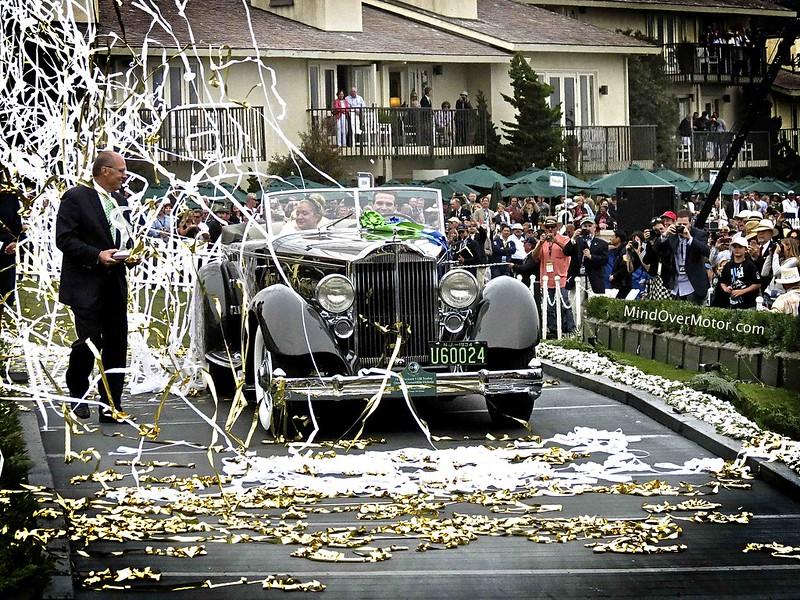 Best in Show Winner, the 1934 Packard 1108 Twelve Dietrich Convertible Victoria