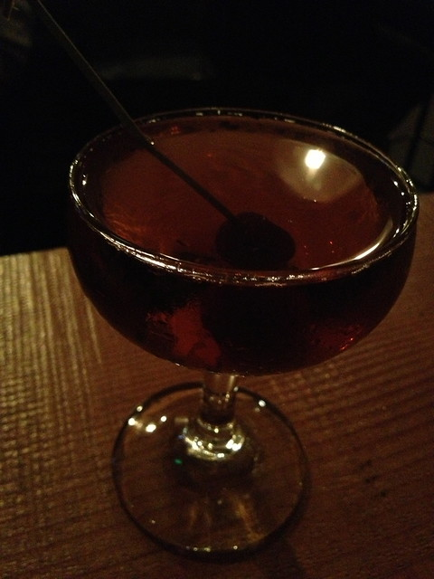 Macho Man-hattan cocktail - Quoin