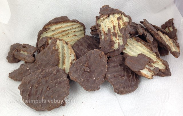 Limited Edition Lay's Wavy Dark Chocolate Covered Potato Chips Contents