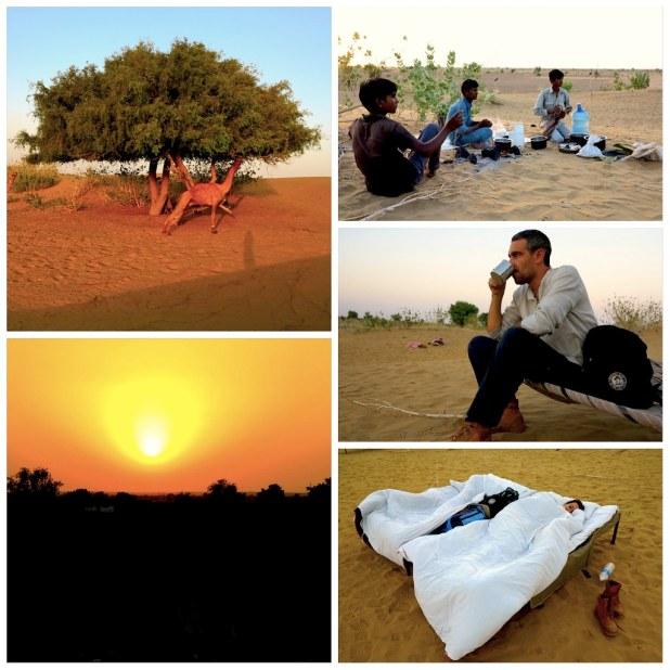 Atardecer desierto Jaisalmer