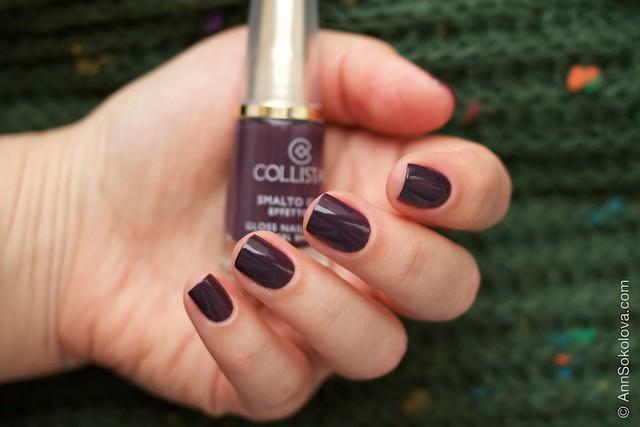 06 Collistar Gloss Nail Lacquer #563 Borgogna Anna