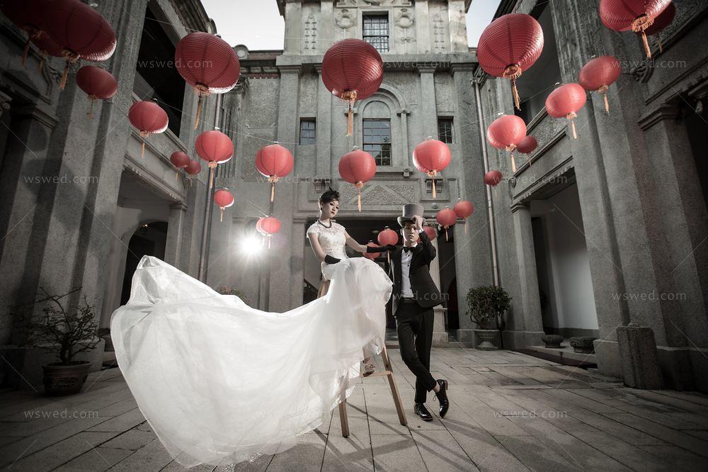 【婚紗禮服】心目中理想嫁紗之夢幻裙擺 與 攝影場景風格的完美邂逅 @ 愛婚誌 W.LOVE Wedding :: 痞客邦