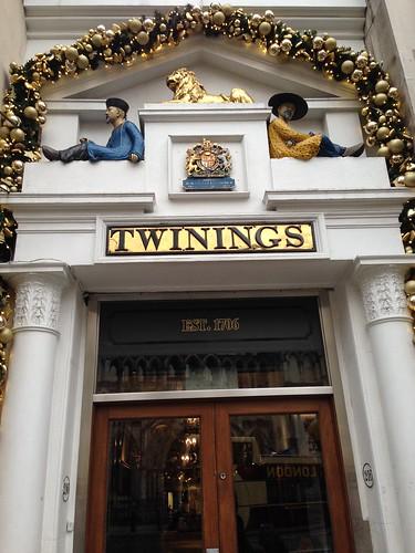 Twinings, London. Londres