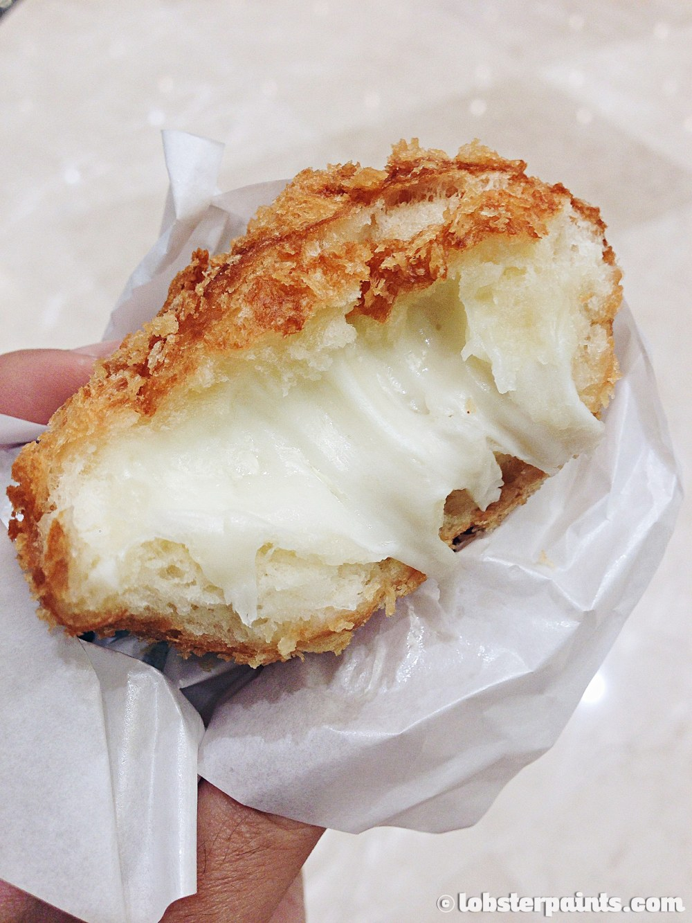 28 Sep 2014: Mozarella Croquette @ Shinsegae Centum City | Busan, South Korea