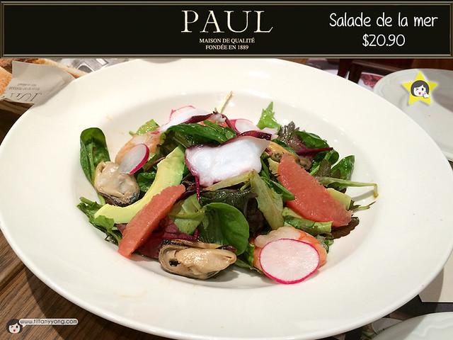 PAUL salade de la mer