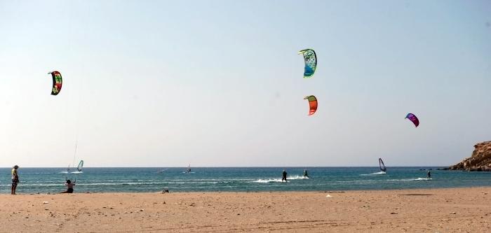 Rhodos_Prasonisi_02_Surfer_Kiter