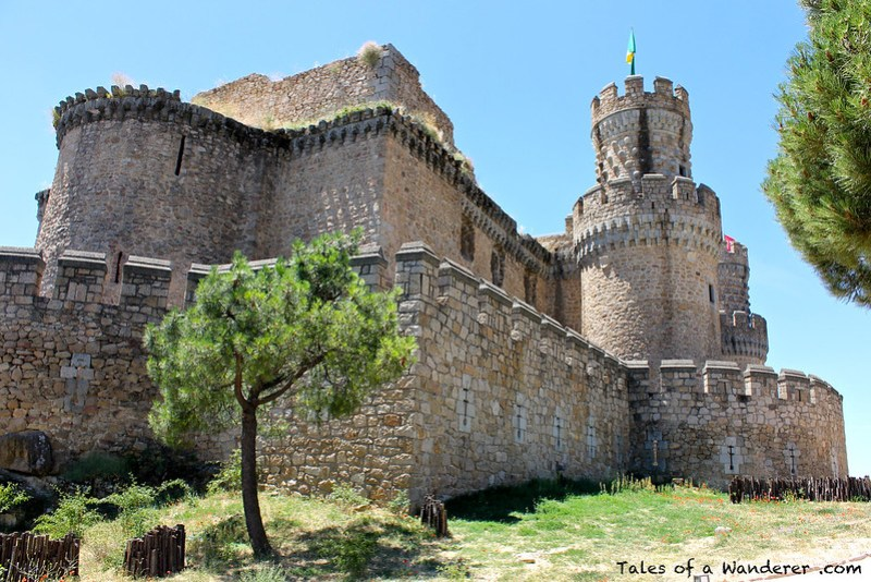 MANZANARES EL REAL - Castillo de los Mendoza