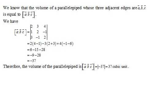 RD Sharma Class 12 Solutions Chapter 26 Scalar Triple Product Ex 26.1 Q3-i