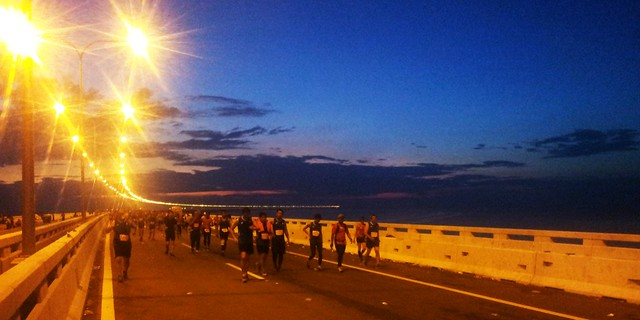 Sunrise On Penang Bridge