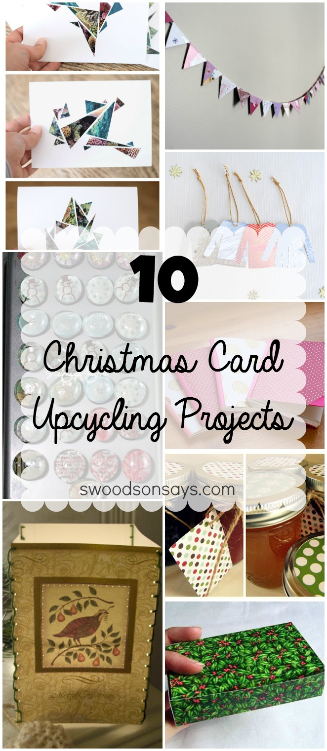 Christmas Card Recycle Upcycle Ideas