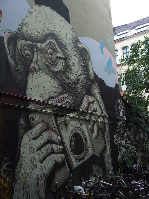 tourist in Berlin