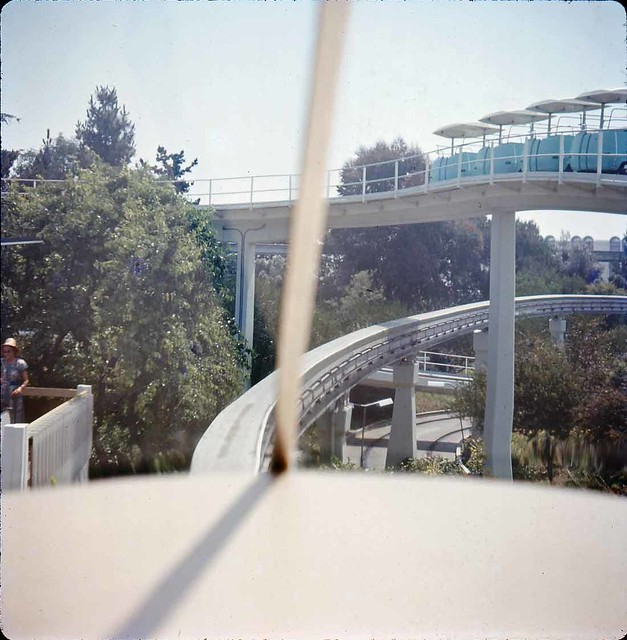 Tomorrowland on the People Mover 1970